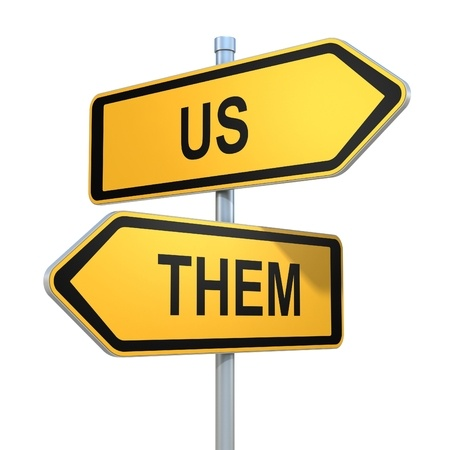 "Is there a culture of ""us and them"" between your IT and the rest of your company? Change the language of IT!"