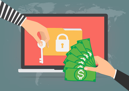 50% of businesses have suffered from a ransomware attack! Don't pay up! They already deleted your data. Yikes.
