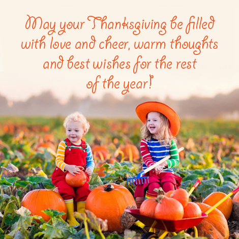 Love and cheer on Thanksgiving