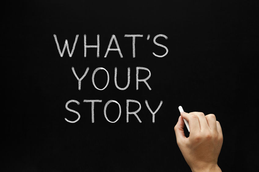 What makes up the content of your business's data story?