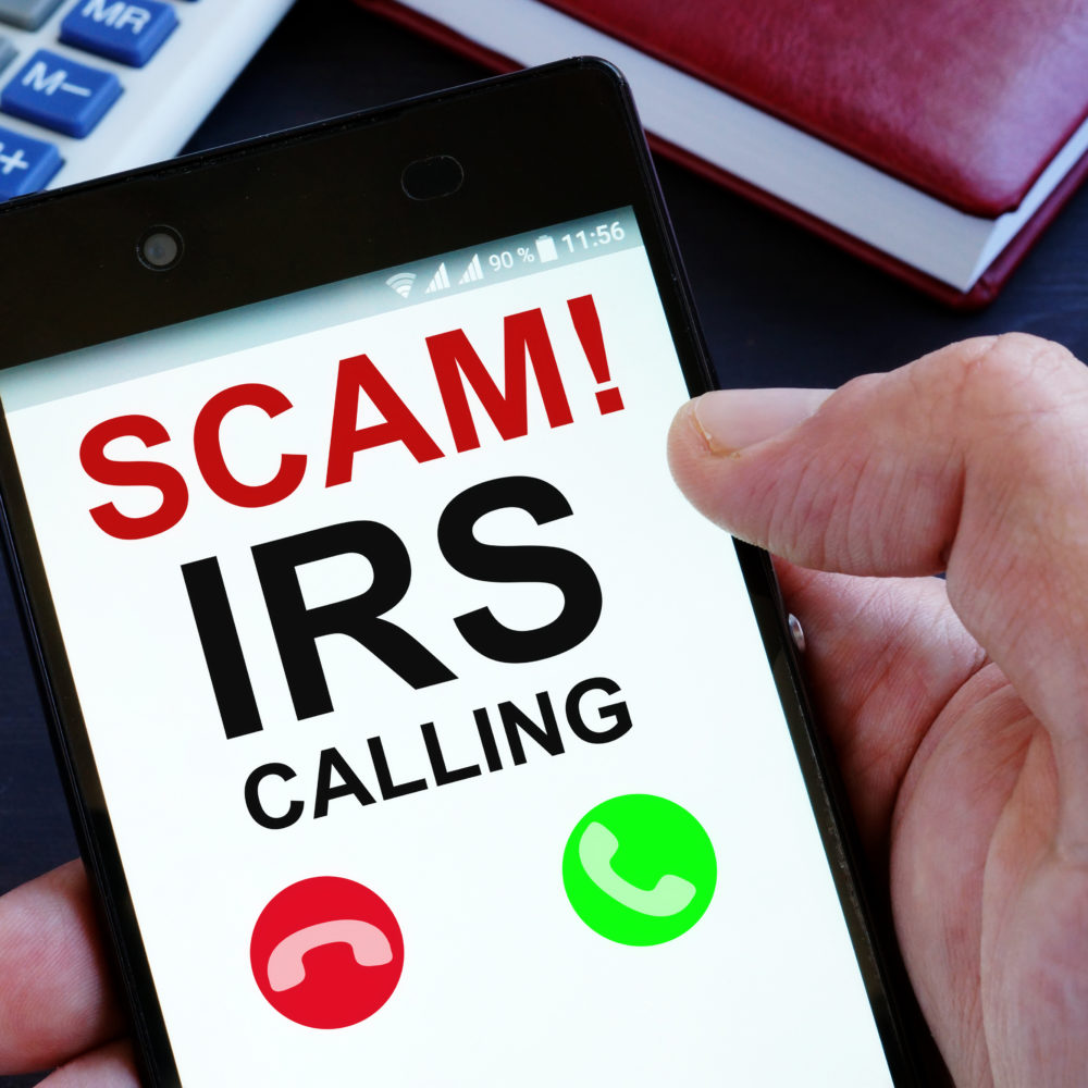 Scam of the Week: Fake Calls from the IRS