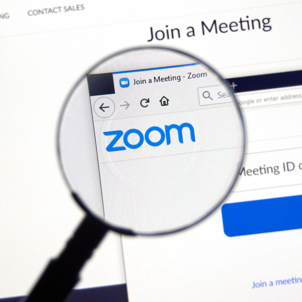 Tips for Working Securely On Zoom